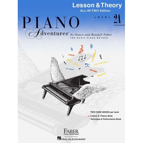 Piano Adventures All In Two 2A Lesson Theory (Softcover Book)