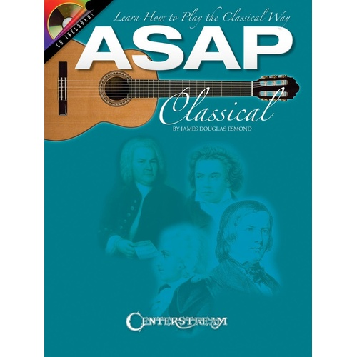 ASAP Classical Guitar Book/CD Guitar (Softcover Book/CD)