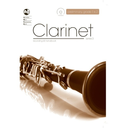 AMEB Clarinet Prelim To Grade 2 Series 3 CD/Handbook (Softcover Book/CD)