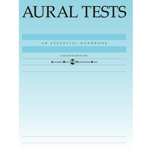 AMEB Aural Tests 1992 (Softcover Book)