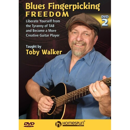 Blues Fingerpicking Freedom DVD (DVD Only)