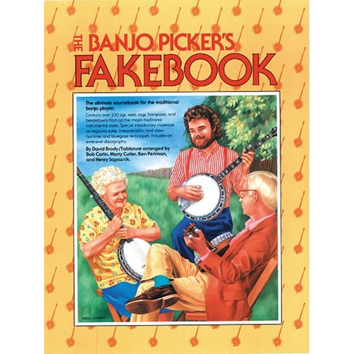 The Banjo Pickers Fakebook (Softcover Book)