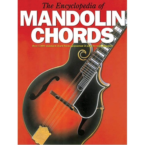 Encyclopedia Of Mandolin Chords (Softcover Book)