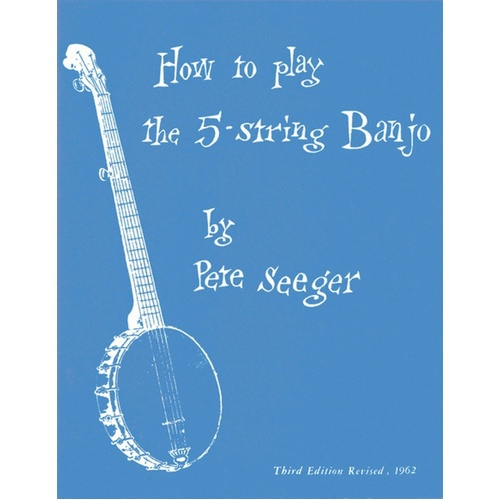 Seeger - How To Play 5 String Banjo (Softcover Book)