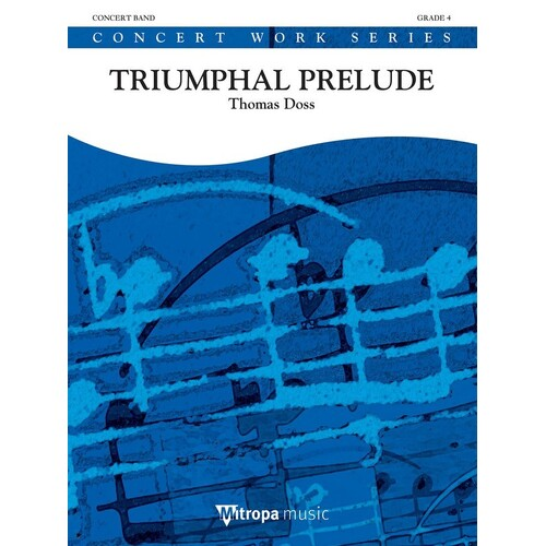 Triumphal Prelude Dhcb4 (Music Score/Parts)