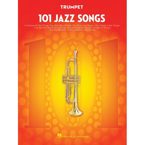 101 Jazz Songs For Trumpet (Softcover Book)