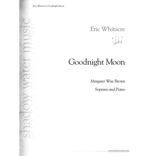 Goodnight Moon (Sheet Music)