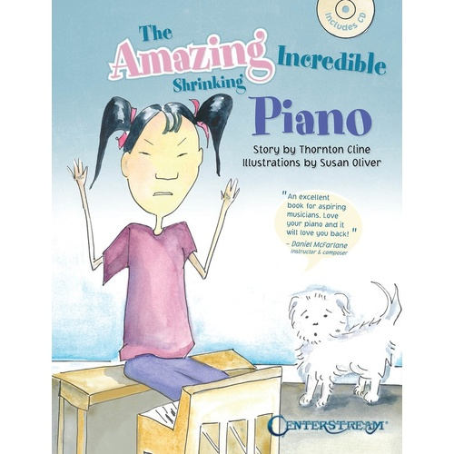 Amazing Incredible Shrinking Piano Book/CD (Softcover Book/CD)