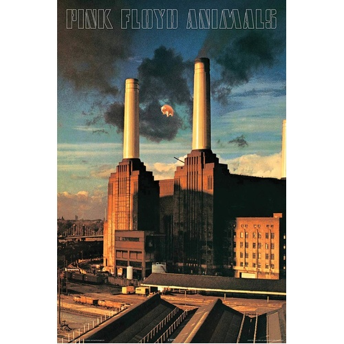 Pink Floyd - Animals Poster