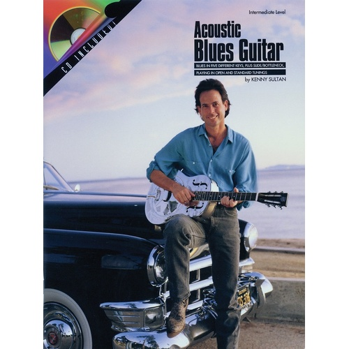 Acoustic Blues Guitar Book/CD (Softcover Book/CD)