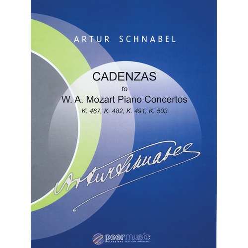 Cadenzas To Mozart Piano Concertos (Softcover Book)