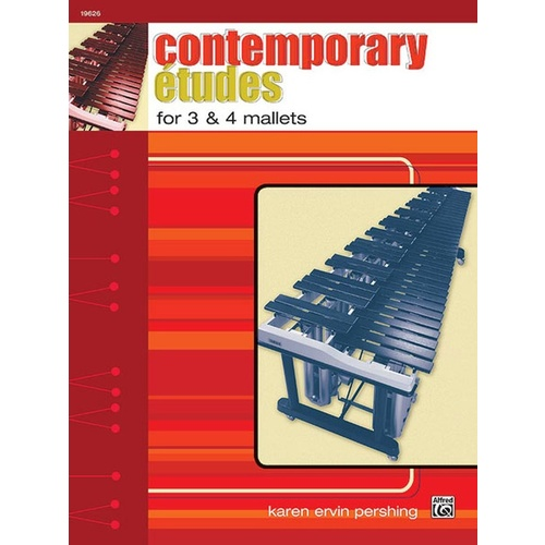 Contemporary Etudes For 3 And 4 Mallets