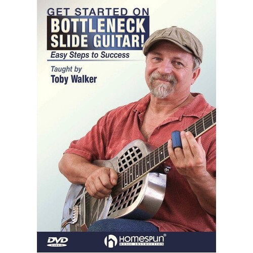 Get Started On Bottleneck Slide Guitar! DVD (DVD Only)