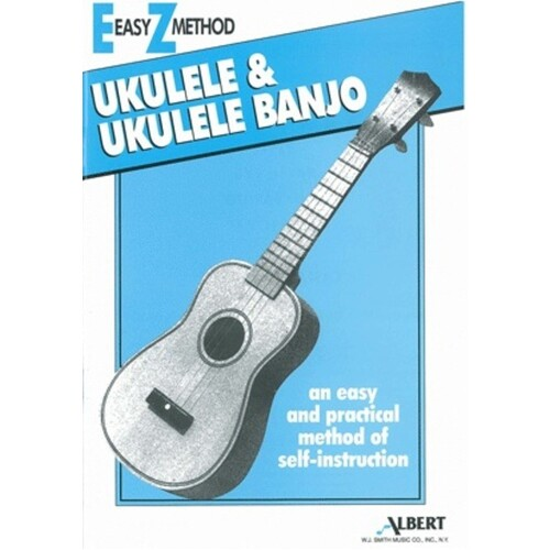 Ez Method Ukulele Blue (Softcover Book)