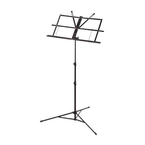 Armour MS3127BK Music Stand W/Bag Black