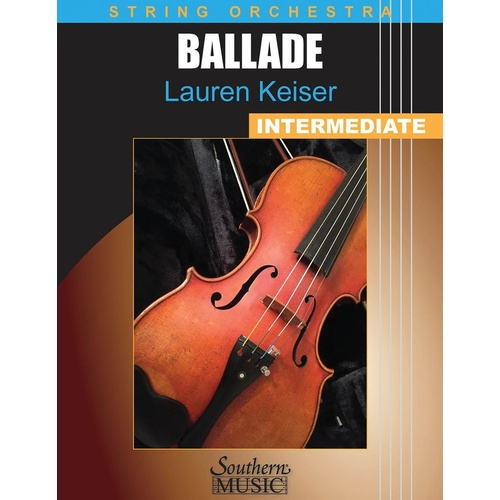 Keiser - Ballade For Strings So3 Score/Parts