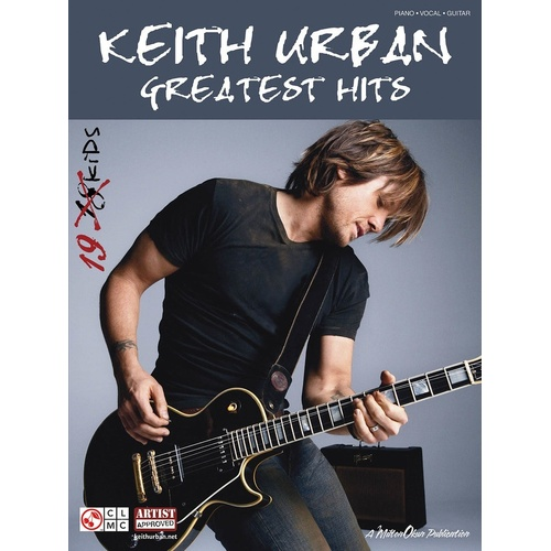 Keith Urban - Greatest Hits 19 Kids PVG (Softcover Book)