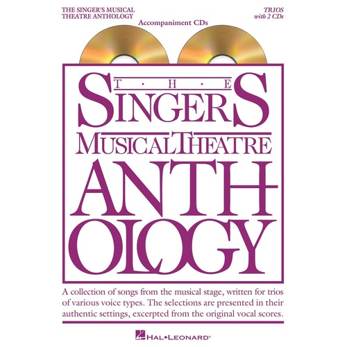 Singers Musical Theatre Anth Trios Accomp CDs (Softcover Book/CD)