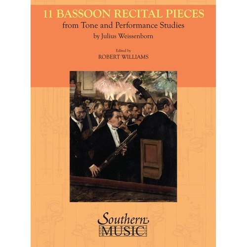 Weissenborn - 11 Bassoon Recital Pieces Bassoon/Piano (Softcover Book)