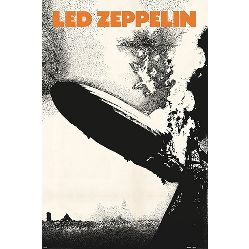 Led Zeppelin 1 Wall Poster