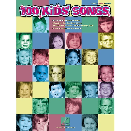 100 Kids Songs PVG (Softcover Book)