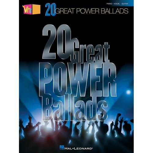 20 Great Power Ballads Vh1 PVG (Softcover Book)