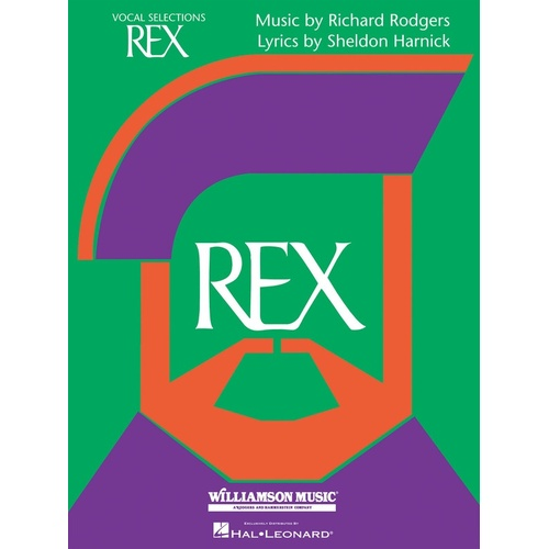 Rex Vocal Selections PVG (Softcover Book)