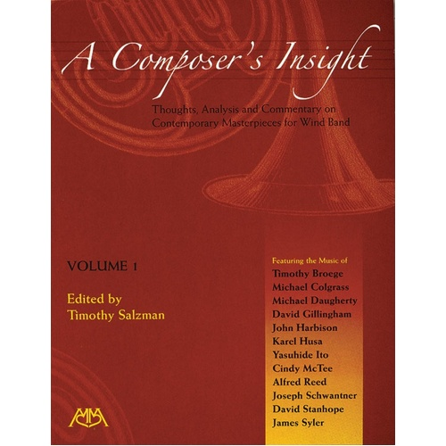 Composers Insight Vol 1 (Softcover Book)