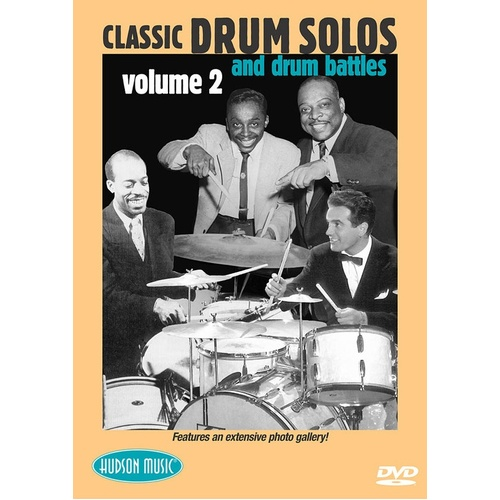 Classic Drum Solos And Battles Vol 2 DVD (DVD Only)