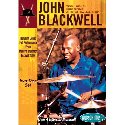 John Blackwell Technique Grooving 2DVD (DVD Only)