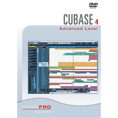 Cubase 4.0 Advanced Level DVD (DVD Only)