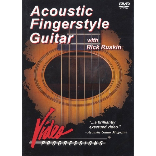 Acoustic Fingerstyle Guitar DVD (DVD Only)