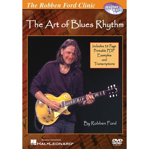 Art Of Blues Rhythm Robben Ford Clinic DVD (DVD Only)