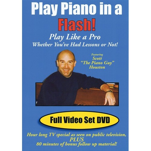 Play Piano In A Flash DVD (DVD Only)