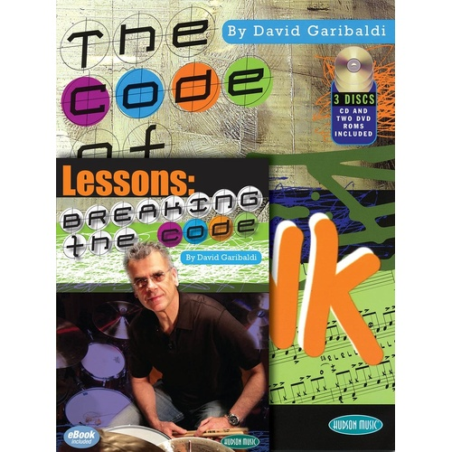Breaking The Code / Code Of Funk Book/CD/DVD Pack (Softcover Book/CD/DVD)