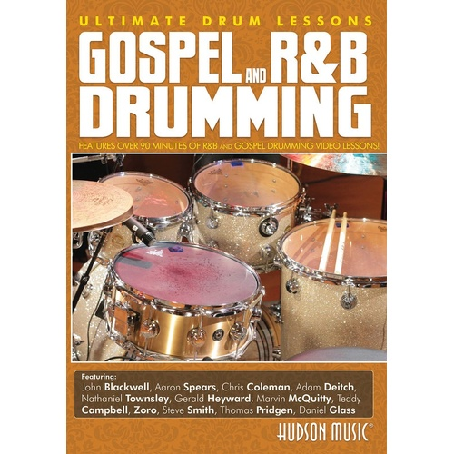 Gospel R&B Drumming Ultimate Drum Lessons DVD (DVD Only)