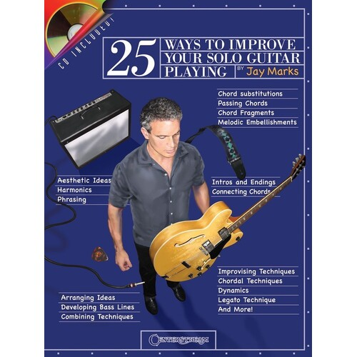 25 Ways To Improve Your Solo Guitar Playing Book/C (Softcover Book/CD)