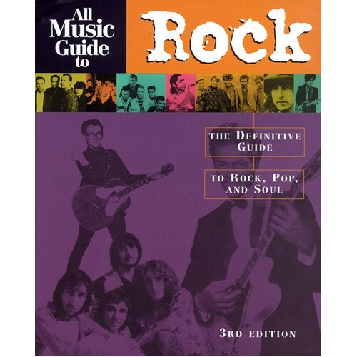 All Music Guide To Rock 3rd Edition (Softcover Book)