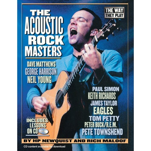 Acoustic Rock Masters Book/CD (Softcover Book/CD)