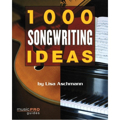1000 Songwriting Ideas 7X9 (Softcover Book)