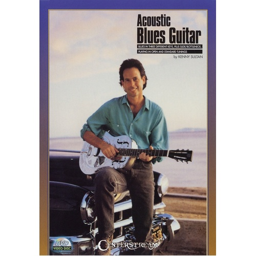 Acoustic Blues Guitar DVD (DVD Only)