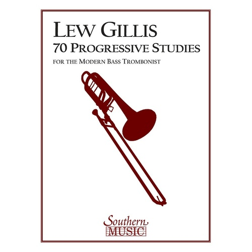 70 Progressive Studies Modern Bass Trombonist (Pod) (Softcover Book)