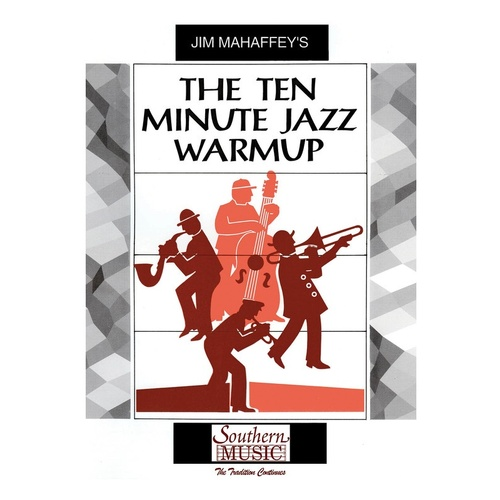 10 Minute Jazz Warmup Score/Parts (Pod) (Music Score/Parts)