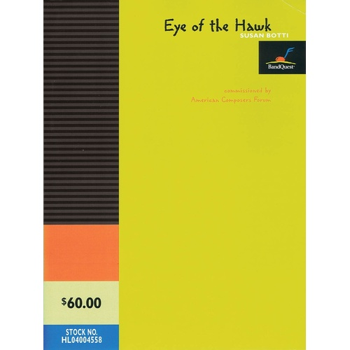 Eye Of The Hawk Concert Band Score/Parts
