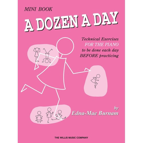 A Dozen A Day Mini Book (Softcover Book)