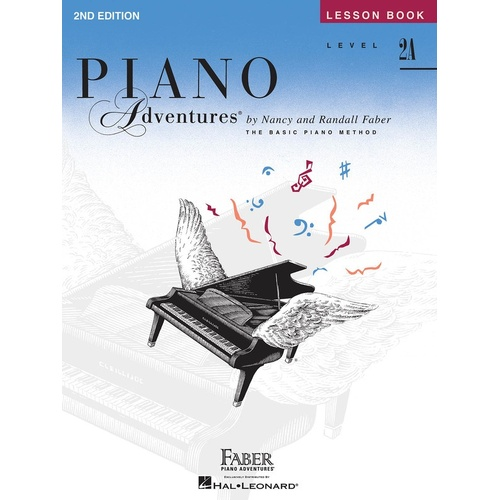 Piano Adventures Lesson Book 2A 2nd Edition (Softcover Book)
