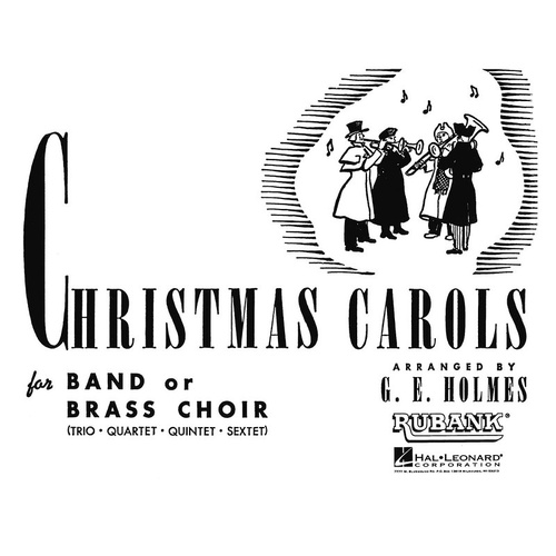 Christmas Carols For Band 1st Alto Sax (Softcover Book)