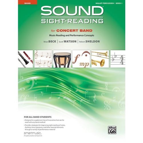 Sound Sight-Reading For Concert Band Book 1 - Mallet Perc