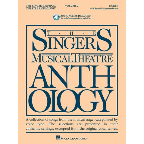 Singers Musical Theatre Anth V2 Duets Book/2CD (Softcover Book/CD)