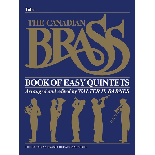 Canadian Brass Easy Quintets Tuba (Part) Book